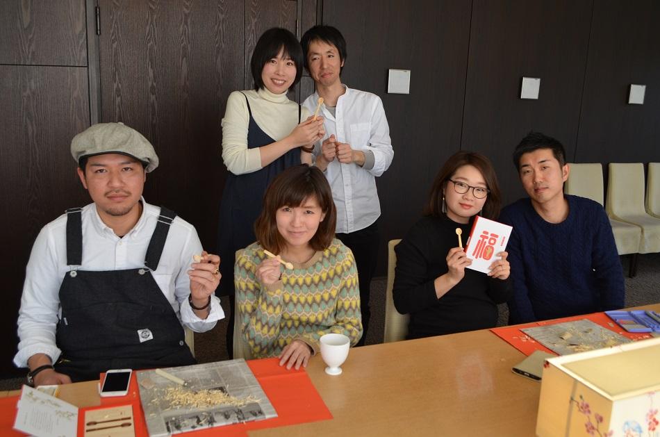 """ワークショップ""""初めての木製スプーン作り""""を2月16日に開催しました"""